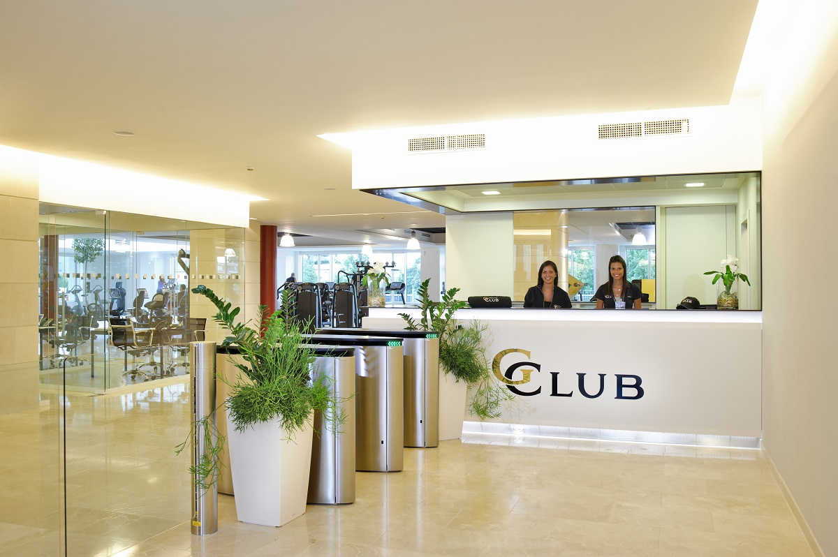 Reception-gclub-palestra