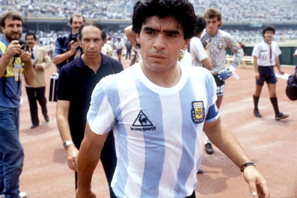 Soccer - World Cup Mexico 1986 - Group A - Argentina v Bulgaria