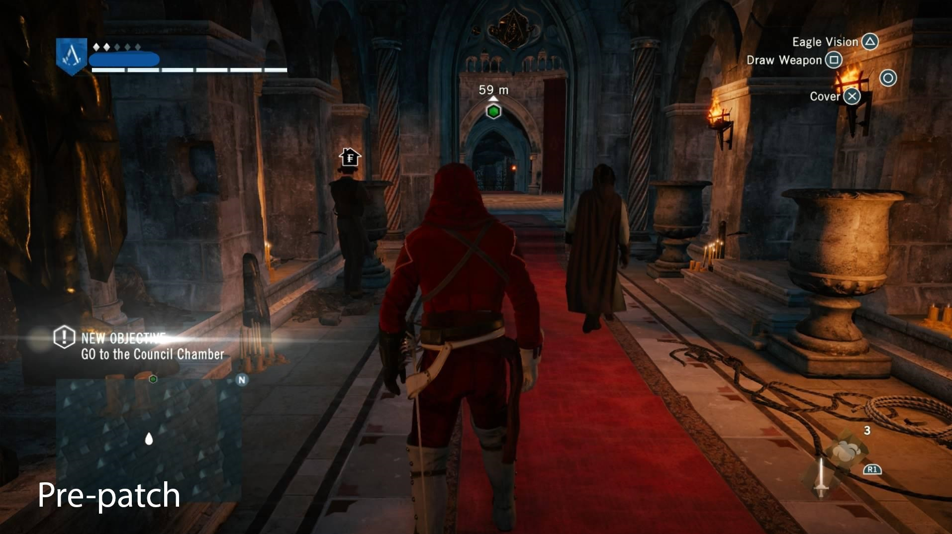 Assassins creed unity prima patch 3