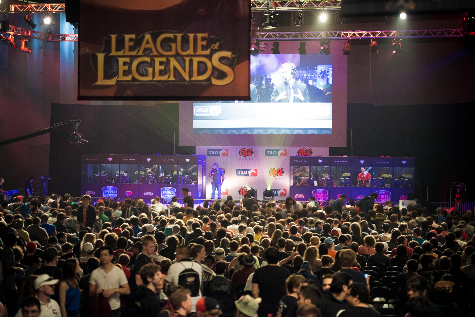 League-of-Legends e-sport